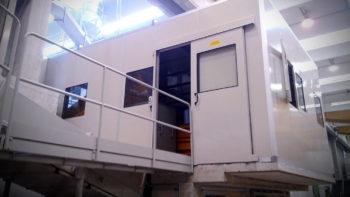 Cabina reparto controllo qualità prodotto