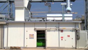 Cabina per impianto di coogenerazione industria alimentare