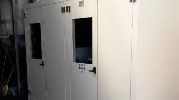 Cabina per compressori nel settore grafico