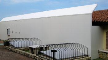 Barriera su macchinario per trattamento aria